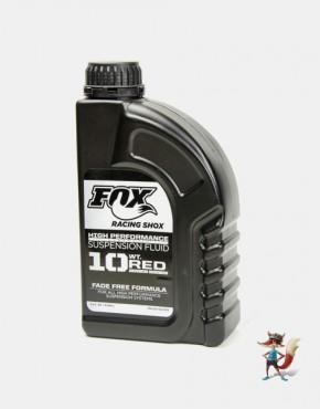 aceite fox racing shox sae 10 red