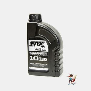 aceite fox racing shox sae 10 red