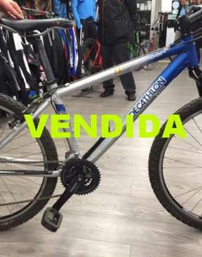 bicicleta decathlon usada