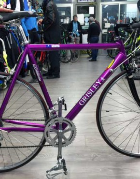 bicicleta grisley de carretera de segunda mano