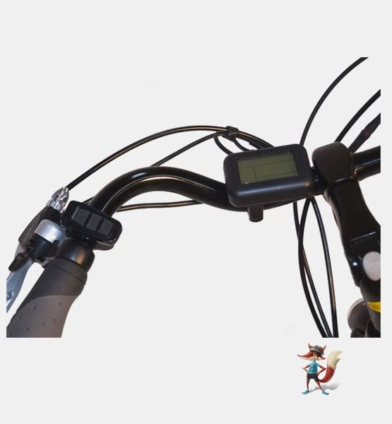 bicicleta electrica city paseo chimobi manillar