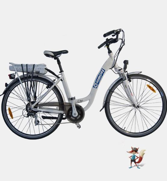 bicicleta electrica city chimobi