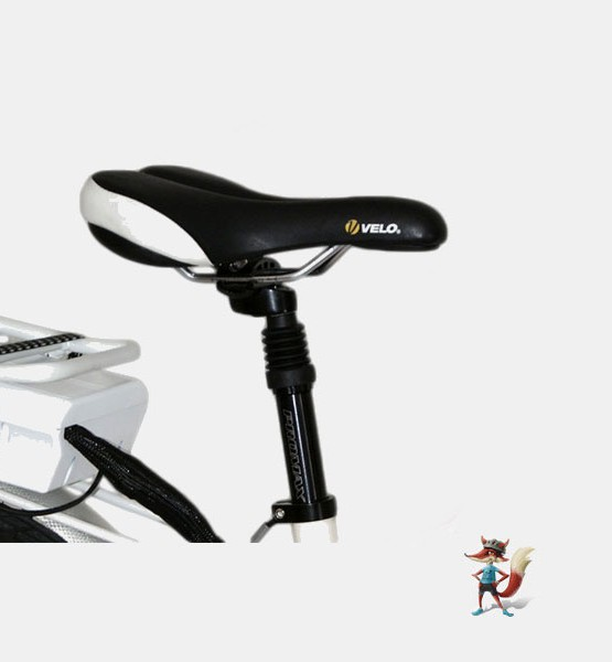 bicicleta electrica city paseo chimobi sillin