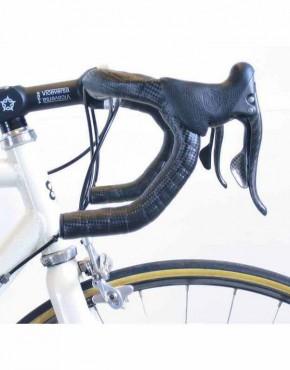 cinta manillar bike ribbon carbono negra