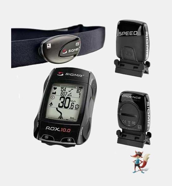 GPS Sigma Rox 10.0 Set negro