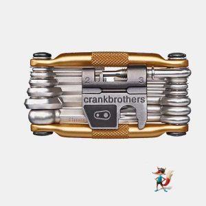 herramienta crankbrothers multi 19 dorada