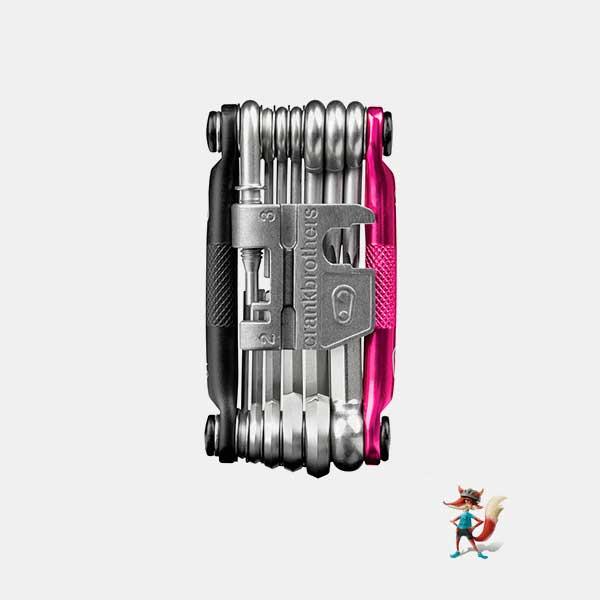 herramienta crankbrothers multi 19 rosa