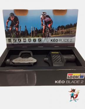 Par de pedales Look Keo Blade 2 Chromoly