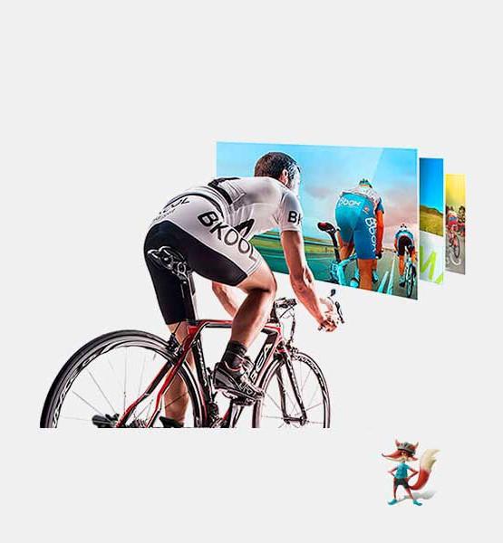 Rodillo Bkool Pro para bicicleta