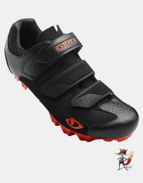 Zapatillas Giro Herraduro mtb montaña negras