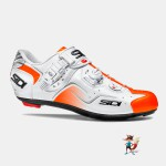 Zapatillas Sidi Kaos bicicleta carretera color naranja