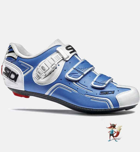 Zapatillas Sidi Level para bicicleta de carretera color azul