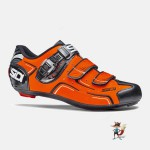 zapatillas sidi level para carretera color naranja