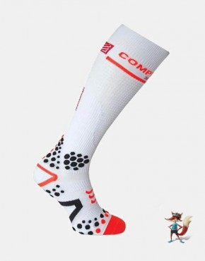 Calcetin Compressport FullSocks V2 de compresion