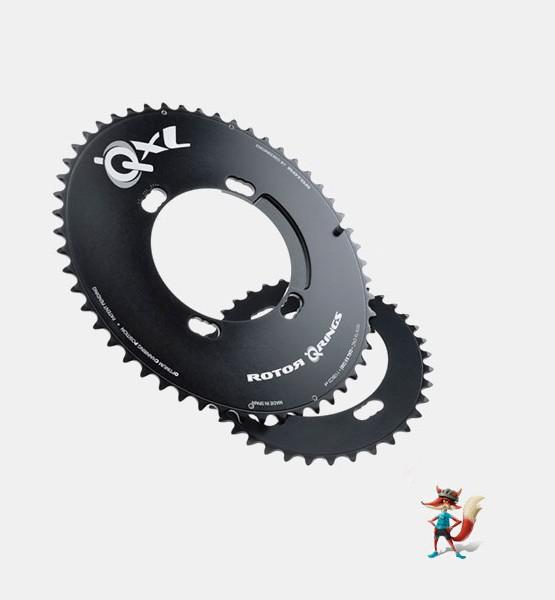 Plato Rotor Qrings Compact QXL oval Shimano 110x4