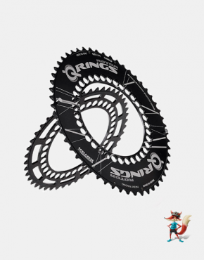 Plato Rotor Qrings QXL ovalados 130 mm