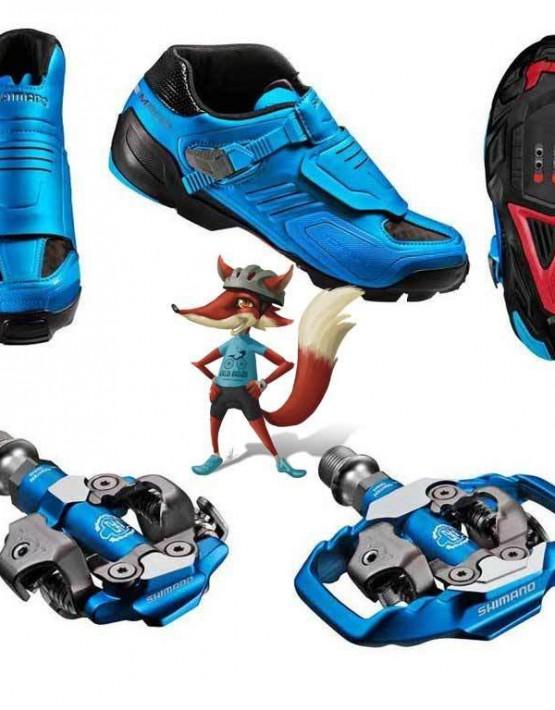 Zapatillas Pedal Shimano para Enduro SH M200B
