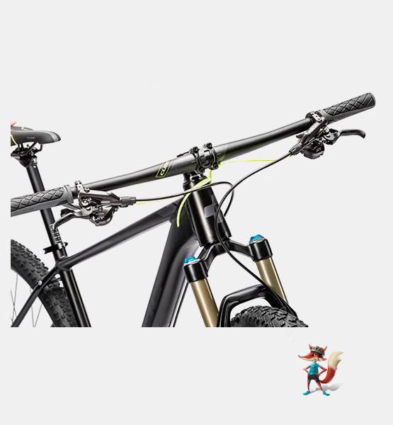 bicicleta-cube-ltd-sl-negra-manillar