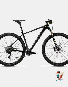 Bicicleta cube LTD SL 29 color negro