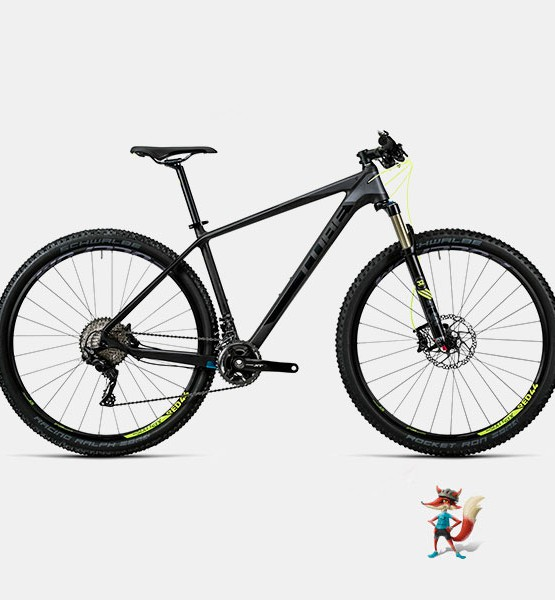 Bicicleta Cube Reaction GTC SL MTB