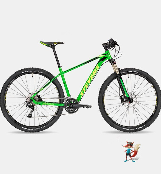 Bicicleta Stevens Applebee 29 verde