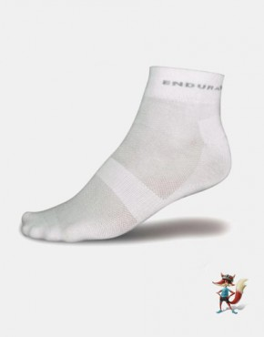 Calcetin Endura Coolmax Blanco