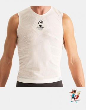Camiseta Assos Skinfoil Evo7 sin mangas