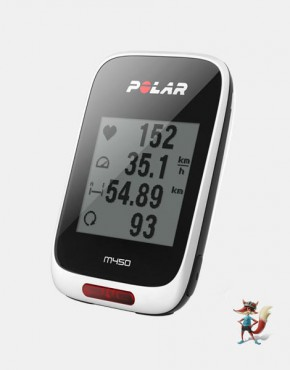 Ciclocomputador Polar M450 con GPS