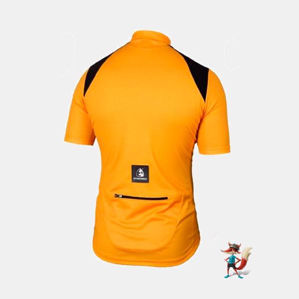 Maillot Etxeondo Open naranja y negro