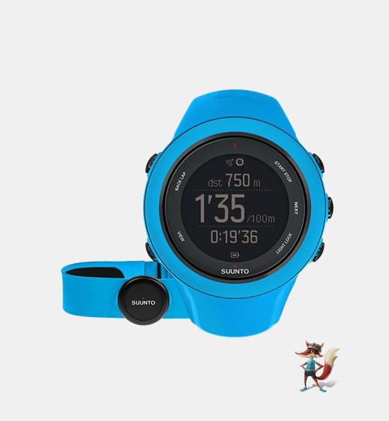 Reloj Suunto GPS Ambit3 sport HR azul