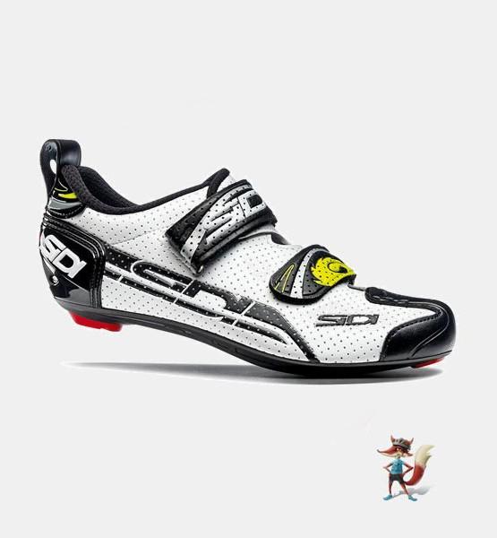 Zapatillas Sidi T4 para triatlon blanca