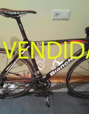 Bicicleta usada Bianchi carretera carbono