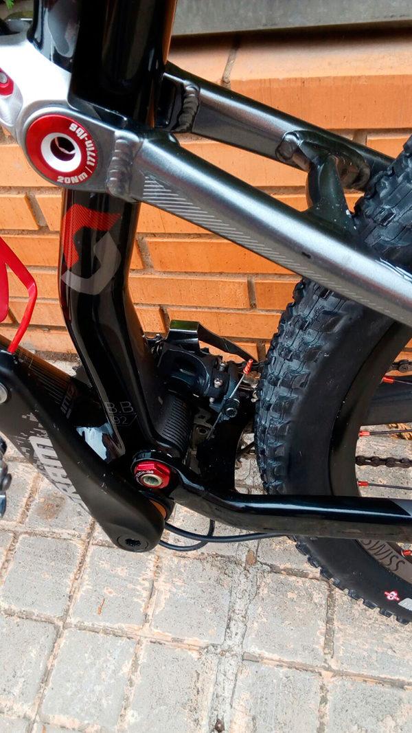 Bicicleta usada Scott Spark 35