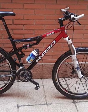 bicicleta usada Bpro doble suspension