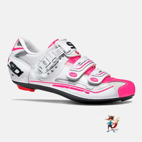 Pink Womens Spinning Shoes