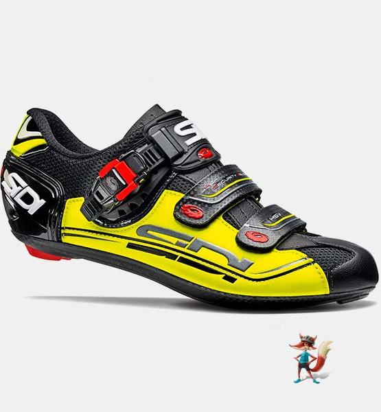 Zapatillas Sidi genius 7 negro amarillo