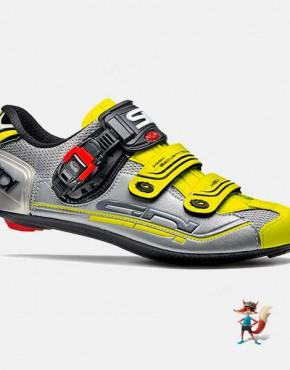 Zapatillas Sidi genius 7 plata amarillo