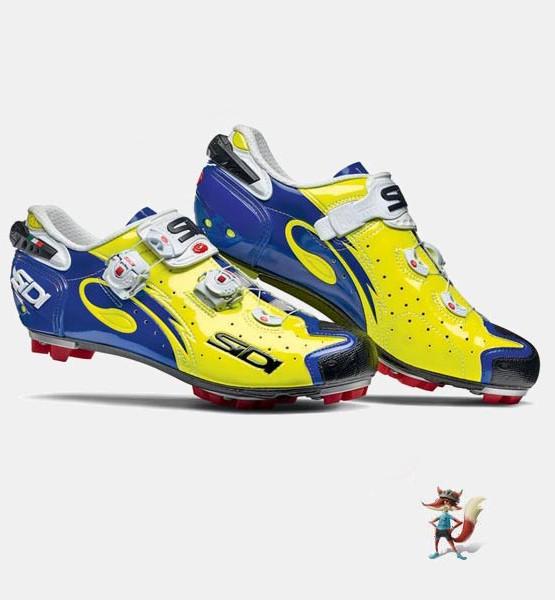 Zapatillas Sidi Drako amarillo azul