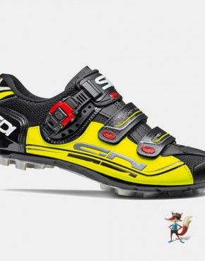 Zapatillas Sidi eagle 7 negro amarillo