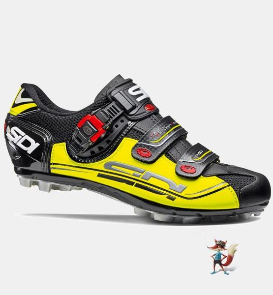 Zapatillas Sidi eagle 7 negro amarillo