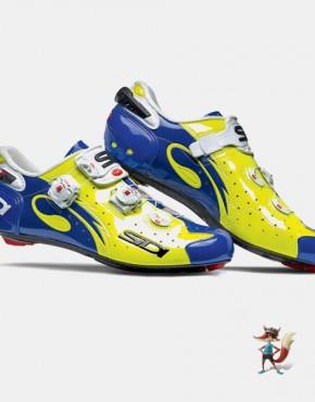 Zapatillas Sidi Wire amarillo azul