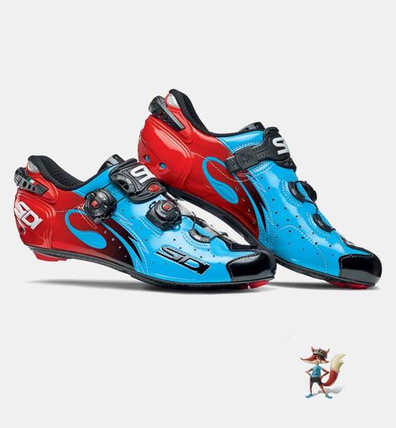 Zapatillas Sidi Wire azul rojo