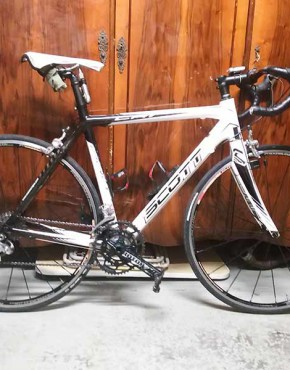 Bicicleta Scott usada carretera