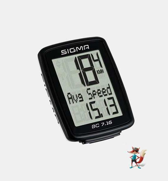 Cuentakilometros Sigma BC 7.16