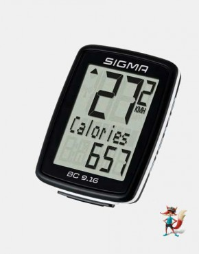 Cuentakilometros Sigma BC 9.16