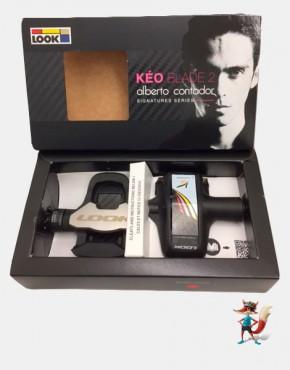 Pedales Look Keo Blade 2 Alberto Contador