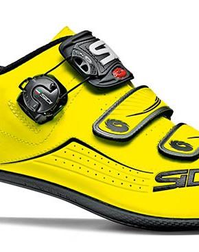 Zapatillas Sidi Alba carretera amarillas