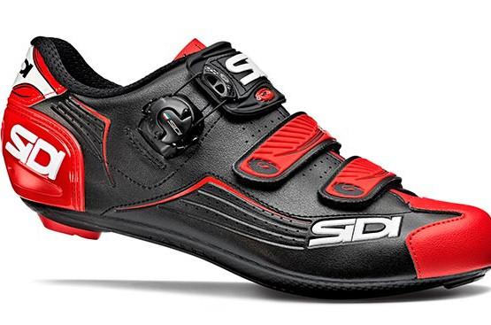 Zapatillas Sidi Alba carretera negra roja