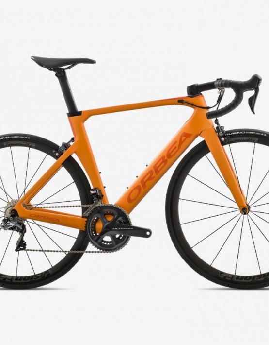bicicleta Orbea Orca Aero M20i team naranja