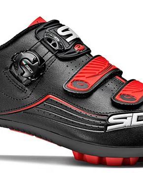 Zapatillas Sidi Trace MTB negro rojas